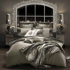 Celebrity Designer Kylie Minogue Home Mila Praline Bed Bedding Duvet Cover