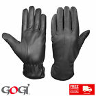 New Gogi 100% Real Leather Ladies Gloves Summer Fashion Casual 1005 Black