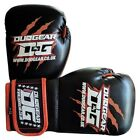 KIDS BLACK 'THAI-GER' BOXING GLOVES FOR KICKBOXING TRAINING AND FIGHTING