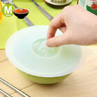 Clear White Silicone Sealing Cup Cover Wrapping Lid Kitchen Tool S M L JR