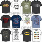 Genuine Mens Marvel Avengers Star Wars DC Comics Super Heroes T-Shirts Official