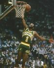 GUS WILLIAMS SIGNED SEATTLE SUPERSONICS 8x10 PHOTO w/PROOF