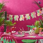 Ginger Ray Hot Pink Summer Iridescent Cactus Party Partyware Lot Set Wedding BBQ
