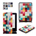 Art Style Case Cover, Stylus & Screen Protector For NEW Amazon Kindle 8 Gen.