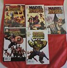 LOT OF 26 MARVEL & DC COMIC BOOKS ZOMBIE SERIES 12 CENT DC AND MORE....