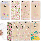 TPU Silicone Case Clear Cover Bumper Rubber Protect Shockproof For Apple iPhone
