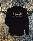 EAT, SLEEP, RIDE MOTORCYCLE SWEATSHIRT, HONDA, MOTO GUZZI,OTHER