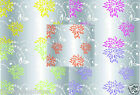 100 metre STARBURST VARIOUS Clear Cellophane Roll Hamper Flower Gift Wrap Film