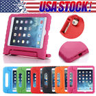 US Stock Kids Child Foam Handle Back Protective Stand Case Cover For iPad Mini 4