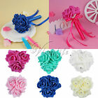 1/5 x  Mini Wedding Bouquet Flower Girl Bouquet for Wedding Favors Decorations