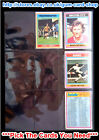 ☆ Topps 1976 Football Blue/Grey Cards 163 to 216 (F) *Please Select Cards*