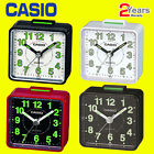 Casio TQ140 Travel Quartz Analogue Glow InThe Dark Bedside Desk Beep Alarm Clock