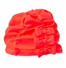 NWT Gymboree SWIM SHOP Bright Orange Swim Bathing Cap Hat FREE US SHIP 4T 5T