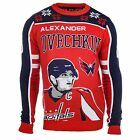 NHL Men's Washington Capitals Alex Ovechkin Ugly Sweater