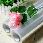 1m CLEAR Transparent Plain Cellophane Roll Hamper Flower Gift Wrap EASTER