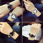 New Fashion Wrist Watch Men Women Lovers Accessory Glass Quartz Hollow Out Chic