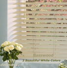 "2"" DELUXE BASSWOOD (REAL WOOD) BLINDS 33 5/8"" WIDE x 85"" to 96"" LENGTHS"