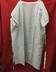 HOSPITAL GOWN - WHITE PATIENT GOWN