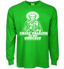 Funny St Patrick's day t-shirt saint patrick is my homeboy tee shirt green paddy