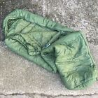 USED OLIVE GREEN SNUGPAK PERTEX SOFTIE 12 SLEEPING BAG,G1,NO COMPRESSION SACK,