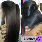 """20"""" Yaki Straight full lace wig/lace front wigs 100% real remy human hair"""