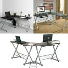 L-Shape Corner Computer Desk Wooden Laptop Table Workstation Home Office