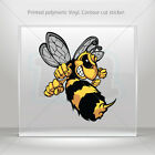 Stickers Sticker Bee Hornet Wasp Vespa Motorbike Bike Garage st5 XWWW9