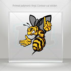 Decals Stickers Bee, Hornet, Wasp, Vespa Atv Bike Garage bike st5 XWZZ4