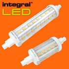 INTEGRAL 78MM 118MM LED R7S BULB 5.2W 6.5W COOL WHITE 4000K - NEW