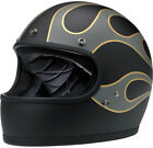 Biltwell Limited Edition Gringo Flames Full Face Helmet <br/> FREE Domestic Shipping - New Items - Excellent Service
