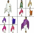 Indian Dupatta Neck Wrap Chunni Scarf Shawl Fashion Women Chiffon Stole-NDP199