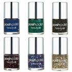 Beauty UK Posh Polish Nail Varnish Glitter Summer Colours Lacquer Nail Art Gel