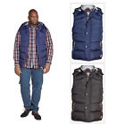 Duke D555 Mens Big Tall King Size Gerry Hooded Gilet Fleece Lined Padded Jacket