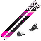 VOLKL 100 Eight Pink Womens SKIS w/Tyrolia Attack 13 Binding NEW  115362K