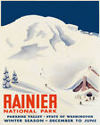 Ski Skiing Rainier National Park Washington Sport 16X20 Vintage Poster FREE S/H
