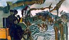 A Battery Shelled Painting by Percy Wyndham Lewis Art Reproduction