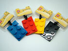 LEGO BRICK LUGGAGE - BAG TAG 5 COLOURS KIDS OR ADULTS HOLIDAY