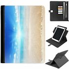 U-BEA04 BRIGHT UNIVERSAL PROTECTIVE TABLET LEATHER FLIP WALLET 360 SWIVEL CASE