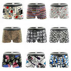 Men's Underwear Boxer Briefs Bulge Pouch Trunks Shorts Underpants Pants Fashion