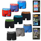 Henleys Uomo 3 Pack Boxer Con Scatola Intimo Firmato Jersey Stretch Trunks