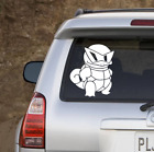 Pokemon Squirtle Squad Sticker | Set Of Two | Squirtle Decal
