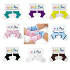 6-12 Months Sock Ons Securing Garments Keep Baby Infant Socks On