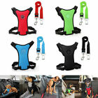 Nylon Pet Dog Car Harness&Seat Belt Clip Leash for Dogs Outdoor Travelling