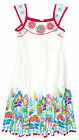 Girls Dresses New Kids Summer Sleeveless 100% Cotton Party Dress Ages 2-10 Years