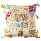 "16"" White Decorative Throw Sofa Pillow Cushion Cover Couch Boho Indian Bohemian"