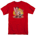 Betty Boop SURF BOARD Felix the Cat Licensed Adult T-Shirt All Sizes $28.33 CAD on eBay