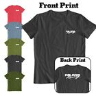 POLARIS RACING HIGH-QUALITY T-SHIRT back / front PRINTING  2 DAYS SALE!