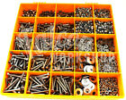 3500 ASSORTED M6 A4 STAINLESS SOCKET BUTTON CSK CAP SCREW NUT WASHER METRIC KIT