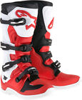Alpinestars Mens Red/White/Black Tech 5 Dirt Bike Boots MX