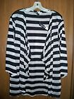 Focus Lifestyle Black and Silver Striped Cardigan-Gorgeous!!